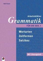 Arbeitsblätter Grammatik für die Sek. I