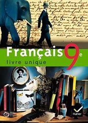 Français Livre unique