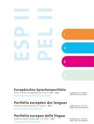 Europäisches Sprachenportfolio II