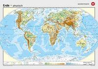 Schulwandkarte Erde