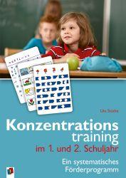 Konzentrationstraining im 1. und 2. Schuljahr