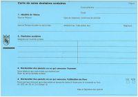 Carte de soins dentaires scolaires Canton de Berne