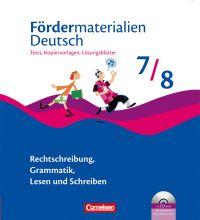 Fördermaterialien Deutsch
