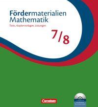 Fördermaterialien Mathematik 7 / 8