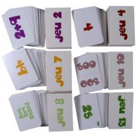 Lot de 6 jeux de cartes
