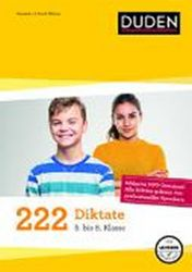 Duden 222 Diktate 5. - 8. Klasse