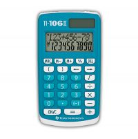 Calculatrice Texas TI-106 II