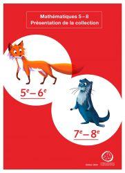 mathématique 5e-8e présentation de la collection